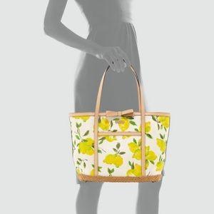 Kate spade lemons tote bag